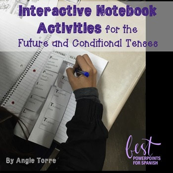 Spanish Interactive Notebook Activities for the Future and