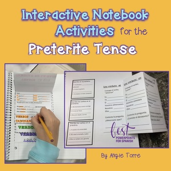 Spanish Interactive Notebook Activities for the Preterite Tense