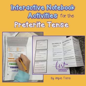 Spanish Interactive Notebook Activities for the Preterite Tense