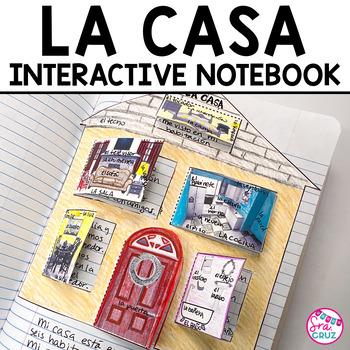 Spanish Interactive Notebook Activity:  La Casa