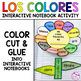 Spanish Interactive Notebook Activity:  Los Colores