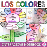 Spanish Interactive Notebook Activity Los Colores Spanish Colors Vocabulary