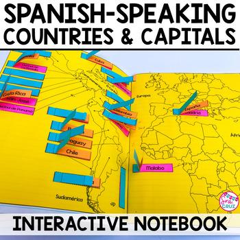 Spanish Interactive Notebook Activity: Spanish-Speaking Countries