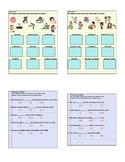 Spanish Interactive Notebook Activity: 'Verbos reflexivos'