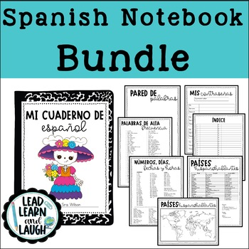 Spanish Interactive Notebook Bundle