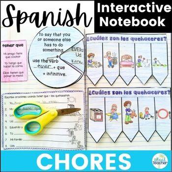 Spanish Interactive Notebook Chores