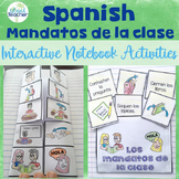 Spanish Interactive Notebook Classroom Commands