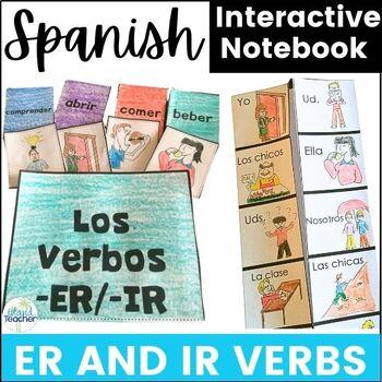 Spanish Interactive Notebook ER and IR Verbs