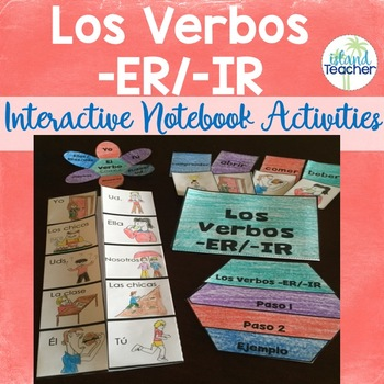 Spanish Interactive Notebook ER and IR Verbs
