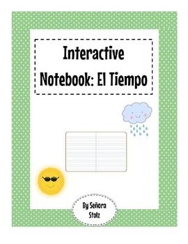 Spanish Interactive Notebook: El Tiempo