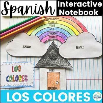Spanish Interactive Notebook Los Colores Colors