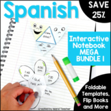 Spanish Interactive Notebook MEGA Bundle for Beginning Spanish