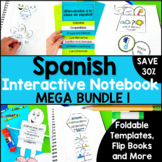 Spanish Interactive Notebook MEGA Bundle 1 for Beginning Spanish
