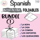 Spanish Interactive Notebook Activities ~BUNDLE~