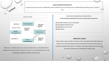 Spanish Interactive Notebook about Earth and Space