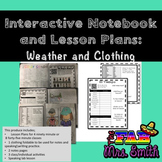 Spanish Interactive Notebook and Lesson Plans: Weather and Clothing