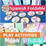 Spanish Interactive Notebook or Folder Activity Bundle