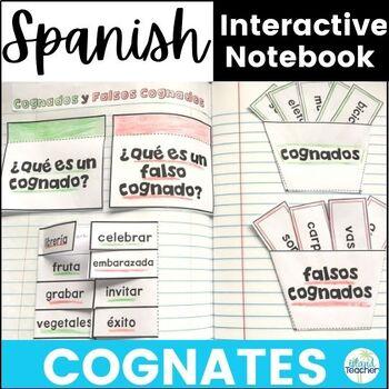 Spanish Cognates Interactive Notebook