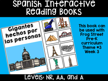 Man-Made Giants Spanish Reading Books Can Be Used With Frog Street