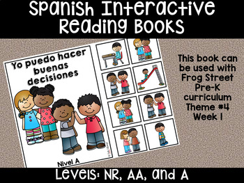 Spanish Interactive Reading Books Can Be Used With Frog Street