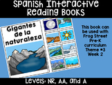 Nature's Giants Spanish Interactive Reading Books Can Be Used With Frog Street