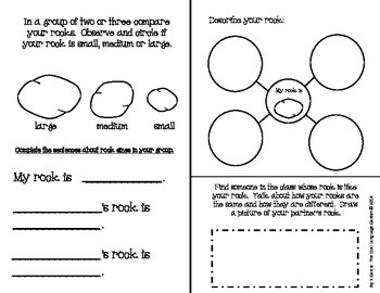 Spanish Interactive Science Journals for K/1st: Matter, Magnets, Rocks, Water
