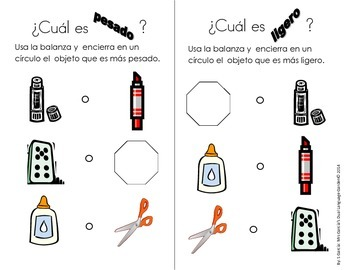 Spanish Interactive Science Journals for Kindergarten/1st:  Entire Year!!