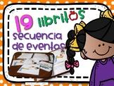 Spanish Interactive Sequencing Center. Secuencia de eventos 19 libritos Interact