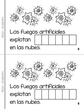 "Spanish Interactive Sight Word Reader ""ARRIBA en la nubes"""