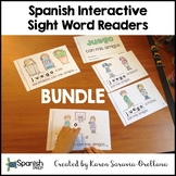 Spanish Interactive Sight Word Readers: Pre-Primer BUNDLE