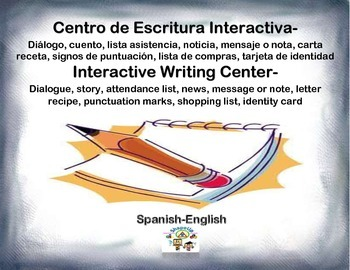 Spanish Interactive Writing Center / Escritura Interactiva in a Station