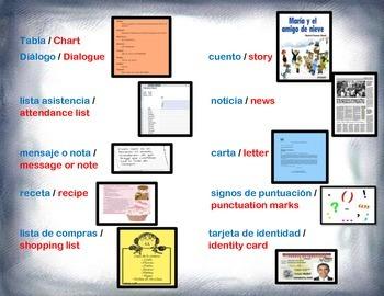 Spanish Interactive Writing Center / Escritura Interactiva in a Station