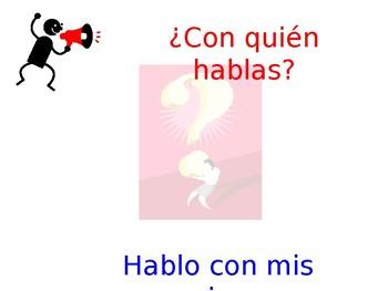 Spanish Interrogative Class Practice #2