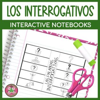 Spanish Interrogative Flipbook (Question Word) Interactive Notebook