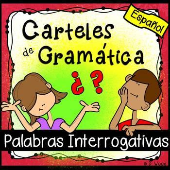 Spanish Interrogative Posters