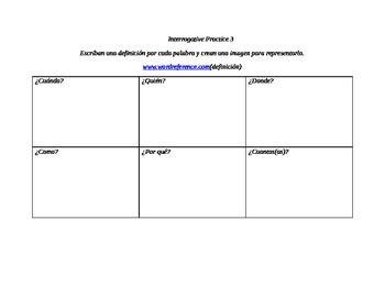 Spanish Interrogative Practice 3