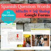 Spanish Interrogative Question Google Forms #dollardaysjuly