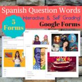 Spanish Interrogative Question Words Google Forms #dollardaysjuly