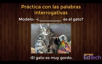 FREE Spanish Interrogative / Question Words Video Practice