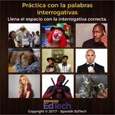 Spanish Interrogative / Question Words Unit