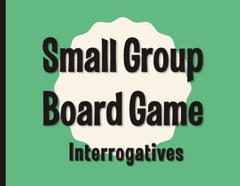 Spanish Interrogatives Board Game
