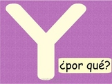 Spanish Interrogatives Bulletin Board Set