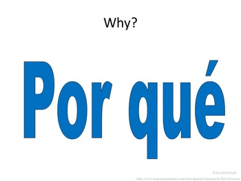 Spanish Interrogatives: Flashcards or Quick Lesson