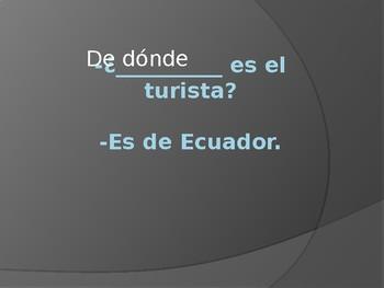 Spanish Interrogatives Grammar Whiteboard Practice