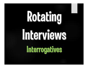 Spanish Interrogatives Rotating Interviews