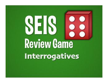 Spanish Interrogatives Seis Game