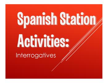 Spanish Interrogatives Stations