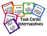 Spanish Interrogatives Task Cards