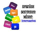 Spanish Interrogatives Sentence Mixer