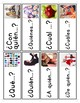 Spanish Interrogatives Vocabulary Posters & Flashcards with Real Photos